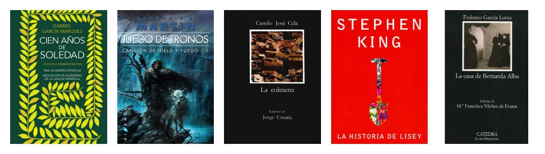 10 libros español C1 C2