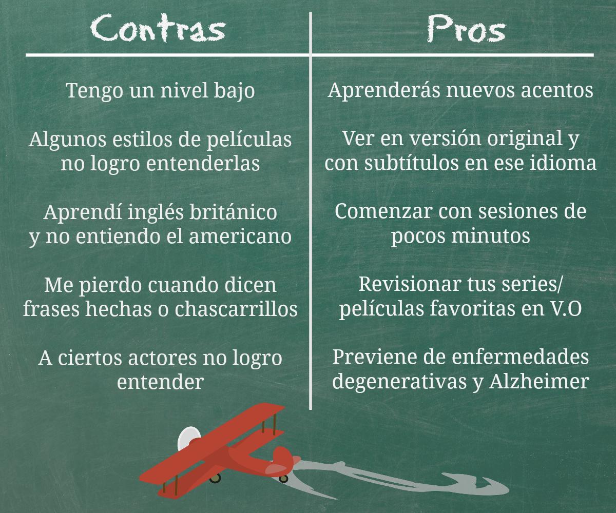Aprender ingl s viendo pel culas y series el blog de idiomas - Microcemento pros y contras ...