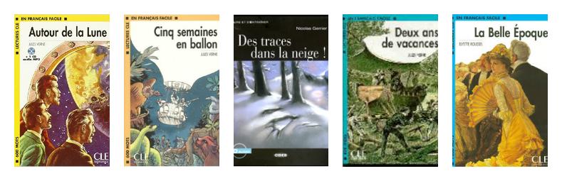 libros lectura francés A2