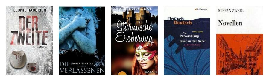 10 libros alemán C1 y C2