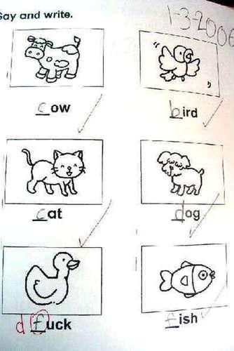 Las Respuestas De Exámenes De Ingles Mas Graciosas Humor Respuestas