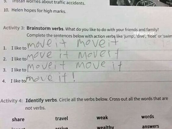 Las Respuestas De Examenes De Ingles Mas Graciosas Humor Respuestas
