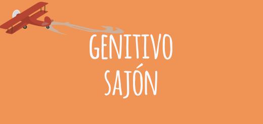 GENITIVO SAJON